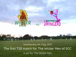 The Wicker Men cricket T20